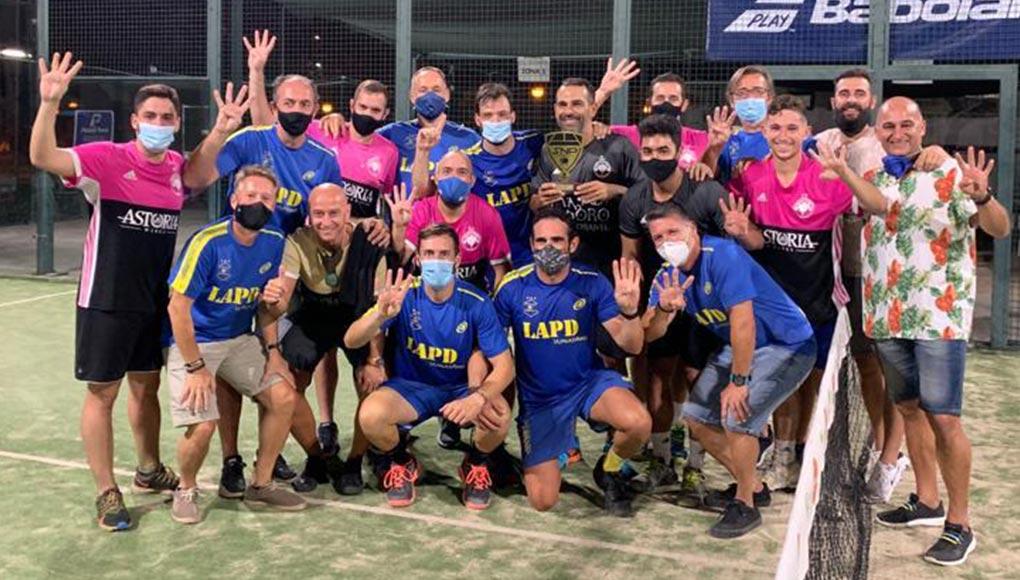 ¡Los Caballeros de Pádel Málaga vuelven a ganar los playoffs de Grand Slam de Málaga!