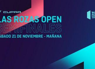 Vive en directo el streaming de las semifinales de Las Rozas Open