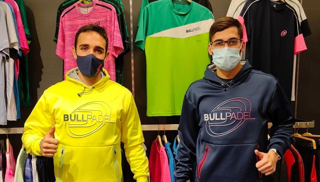Sergio Alba y Francisco Gil, nueva pareja Bullpadel