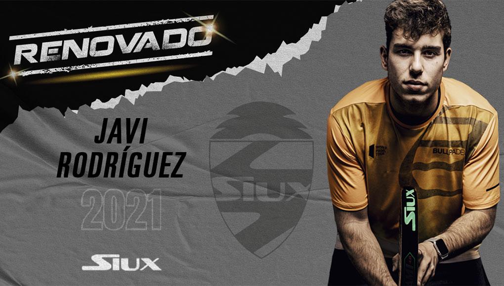 Javi Rodríguez renueva con Siux en su sexta temporada