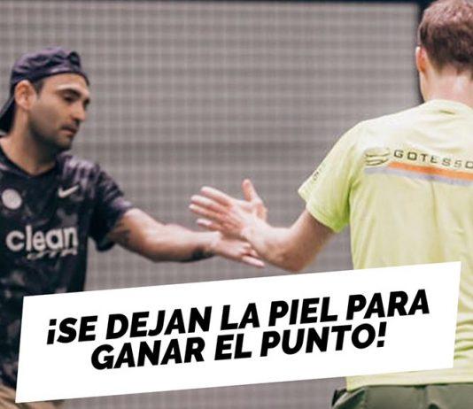 ¡John Larssson y Pablo Figueroa se dejan la piel para ganar el punto!