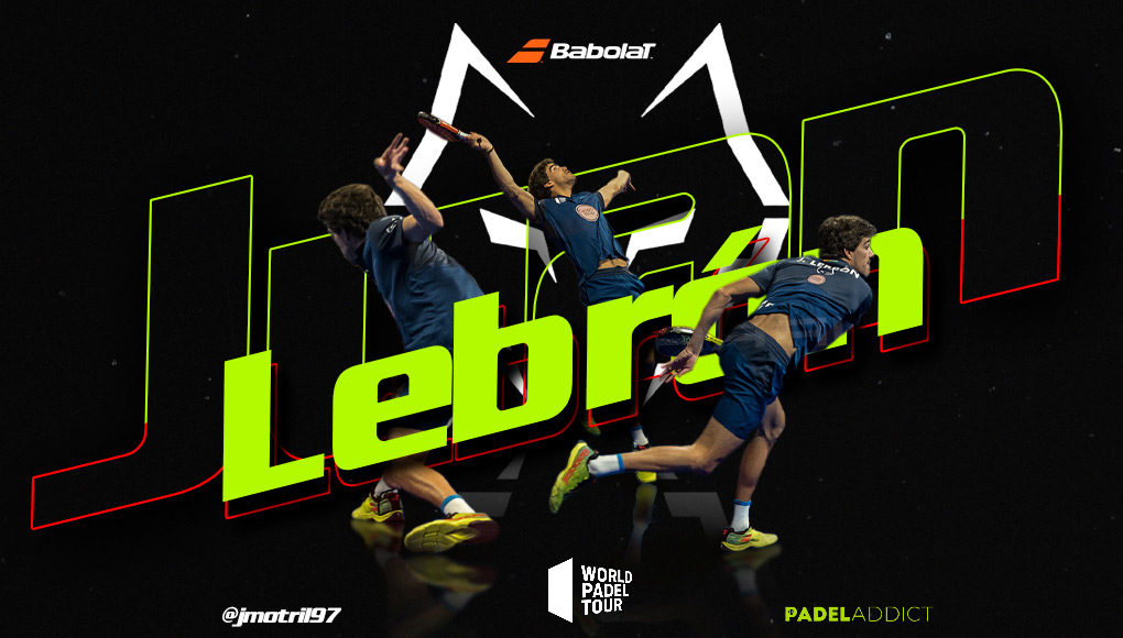 Juan Lebrón, el lobo feroz del World Padel Tour