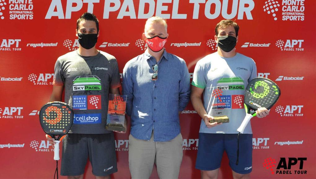 Julianoti y Flores ganan Asunción Open, primera parada del APT Padel Tour