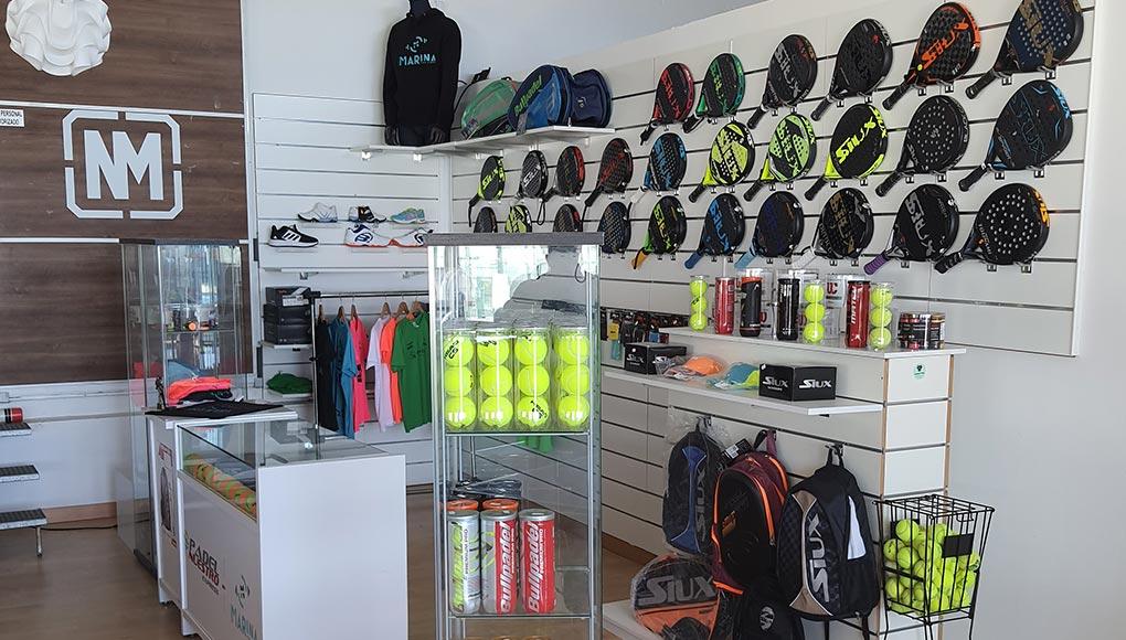 Padel Nuestro by Nueva Marina, nueva tienda express en Granada