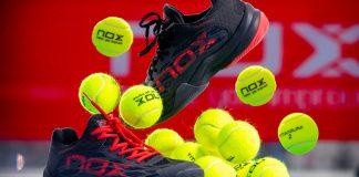 Ya está a la venta el nuevo calzado NOX, zapatillas 100% para la práctica del pádel