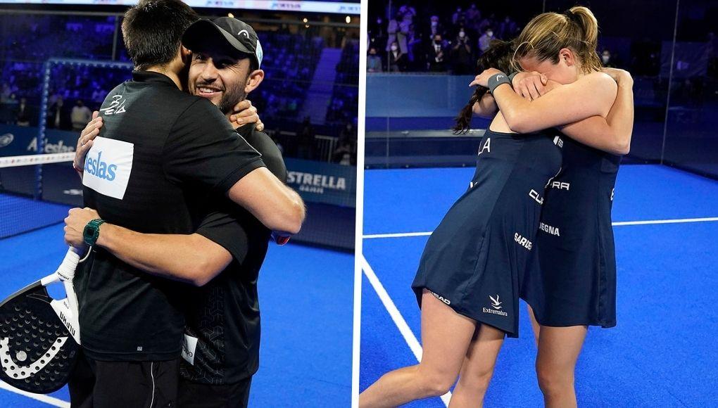 Finales del Adeslas Madrid Open: ¡Bela - Sanyo y Paula - Ari se proclaman ganadores