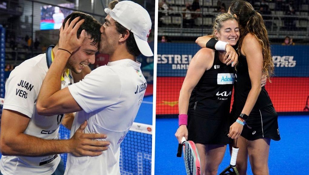 Las parejas números 1 imponen su ley en las finales del Alicante Open