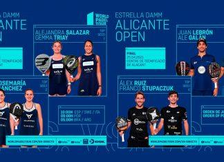 Streaming del Alicante Open: Sigue en directo las finales del domingo