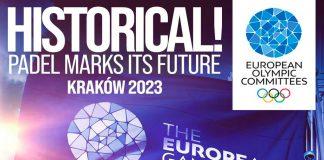 La FIP anuncia que el pádel se jugará en los Juegos Europeos de 2023