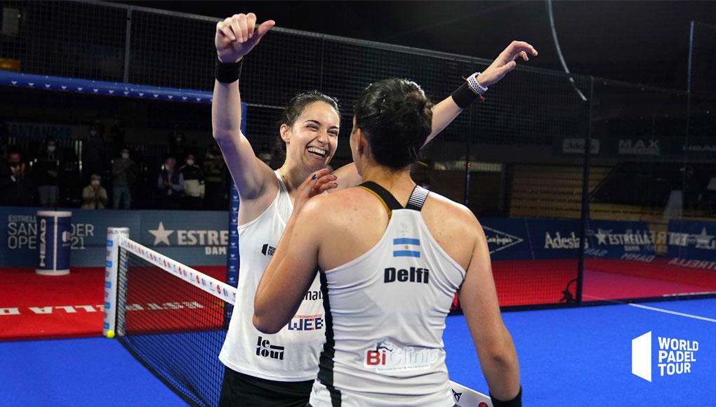 ¡Támara Icardo y Delfi Brea suman su primer título en el Santander Open!