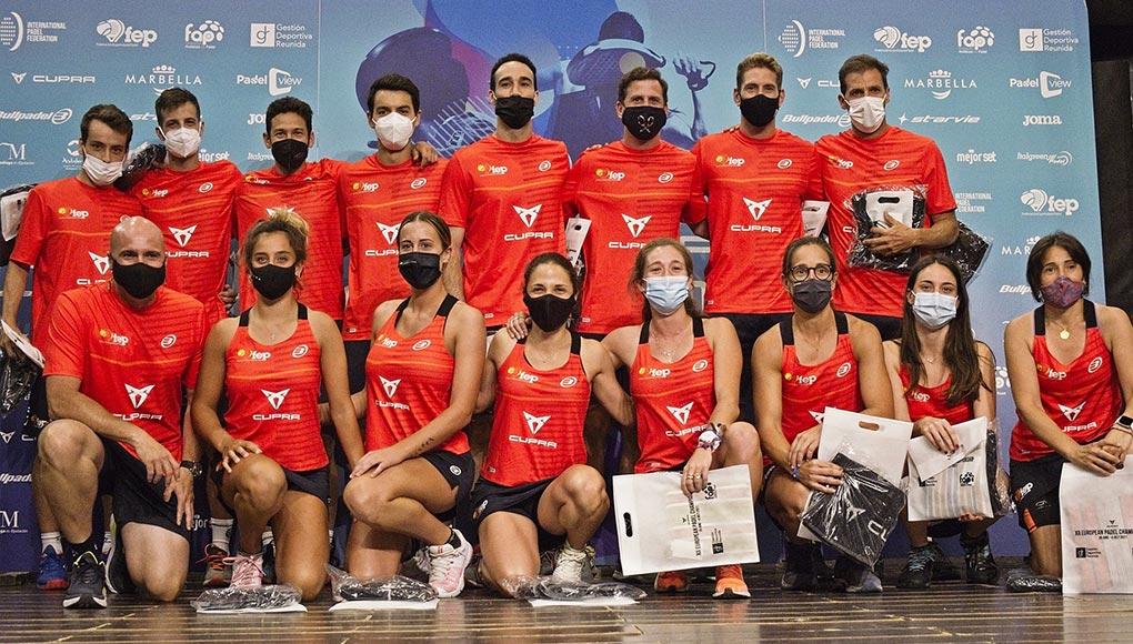 ¡Arrancó el Cupra XII Campeonato de Europa de Pádel en Marbella!