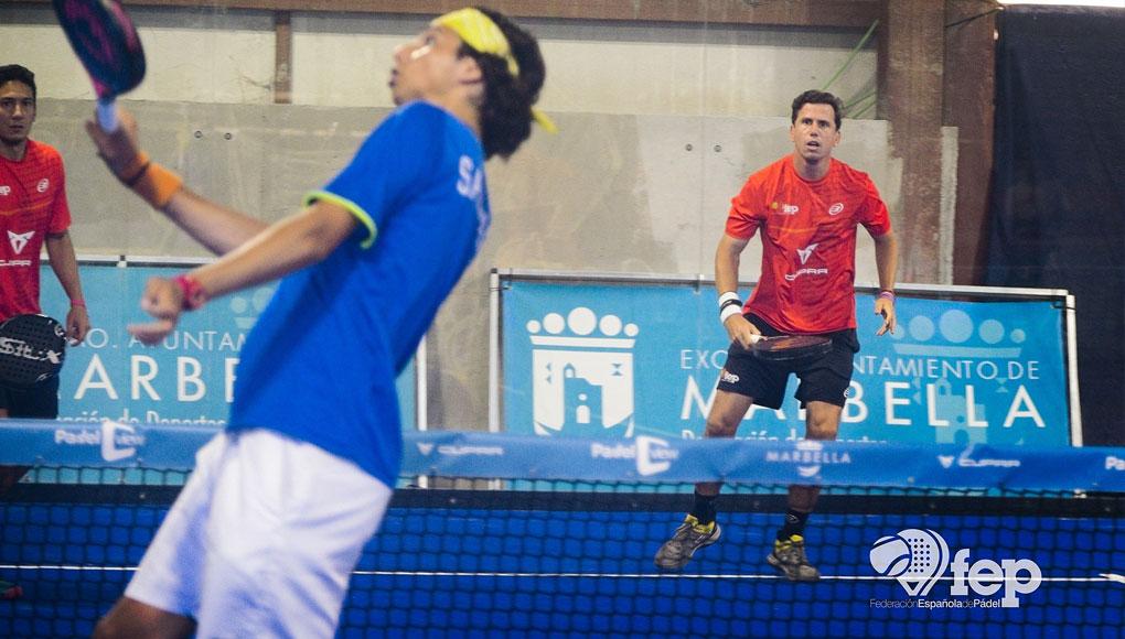 España, Italia, Francia y Bélgica marcan diferencias en el inicio del CUPRA XII Campeonato de Europa de Pádel