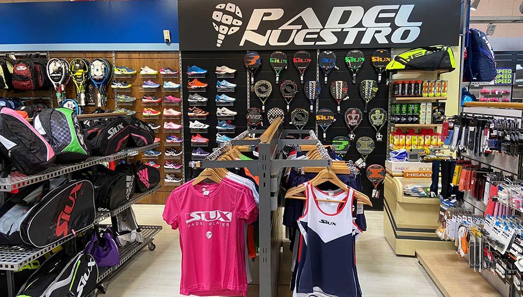 Inauguración de Padel Nuestro Intersport Thader en Murcia