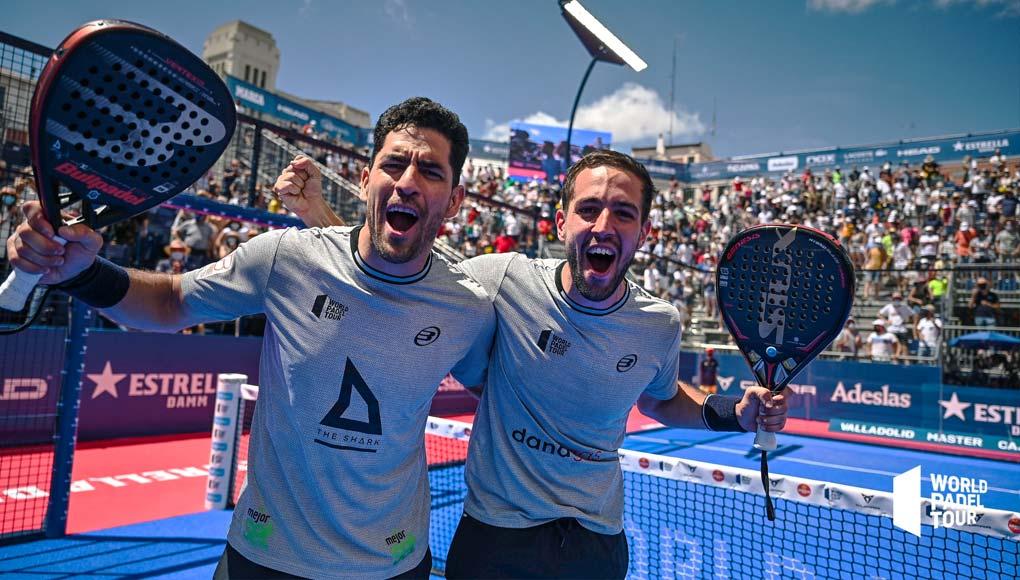 Lucho Capra y Maxi Sánchez se coronan como pareja en el Valladolid Master
