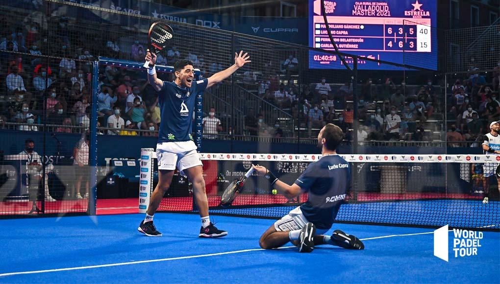 Semifinales del Valladolid Master: Maxi Sánchez y Lucho Capra, a la final