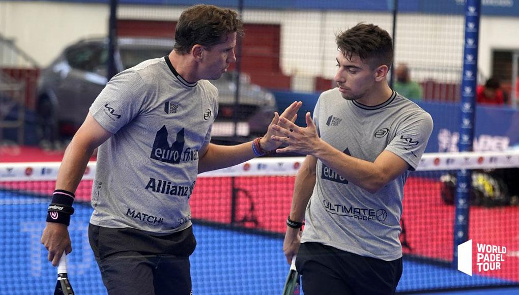 Dieciseisavos de Las Rozas Open: Paquito Navarro y Martín Di Nenno arruinaron el prometedor debut de Javi Ruiz y Arturo Coello