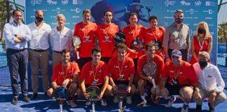 España sale victoriosa en todas las categorías del Europeo de Pádel de Marbella