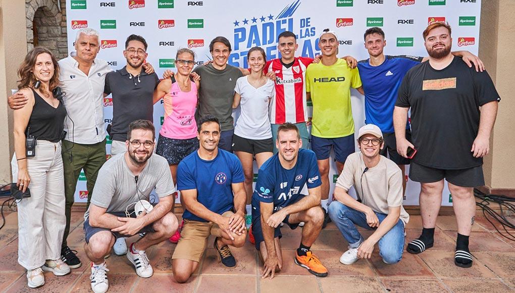 Kolderiu y Tresco, campeones del torneo de pádel de Ibai Llanos