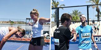 Momo González/Javi Rico y Victoria Iglesias/Aranza Osoro ganan el Marbella Challenger