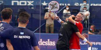 Lamperti y Yanguas eliminan a Paquito y Di Nenno en los octavos de Las Rozas Open