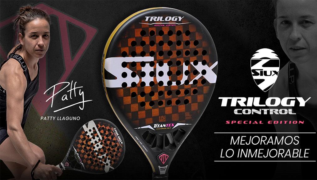 Siux presenta la Trilogy Control Special Edition, la pala de Patty Llaguno