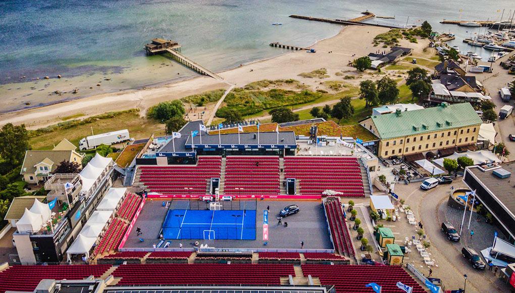 El Båstad Tennis Stadium acogió la primera edición del América VS Europa