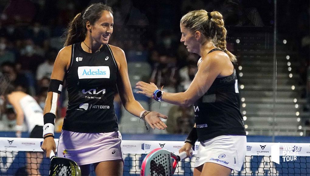 Gemma Triay y Ale Salazar, tricampeonas tras ganar el Málaga Open