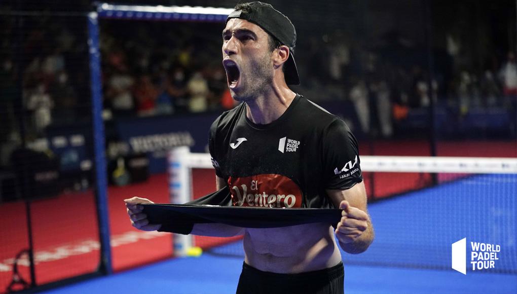 Javi Ruiz y Arturo Coello eliminan a Lebrón y Galán en el Málaga Open