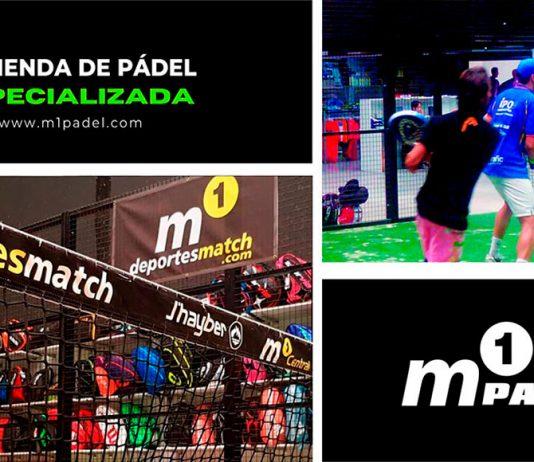 M1 Padel - Deportes Match mucho más que una tienda de pádel