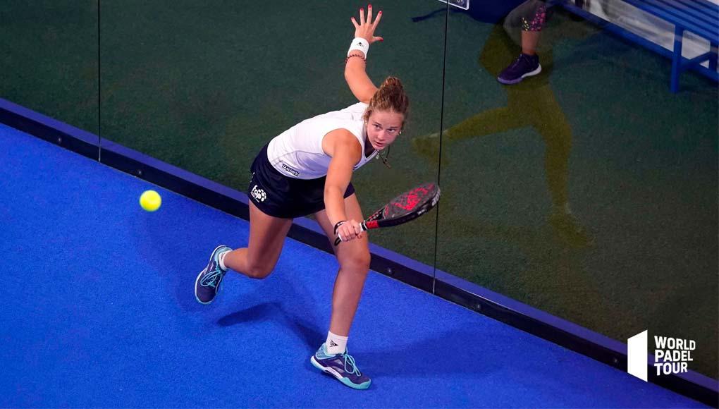La malagueña Marta Caparrós consiguió su pase al cuadro final del Málaga Open