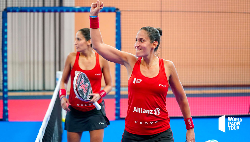 ¡Victoria de gigantes para las gemelas en los cuartos del Málaga Open!