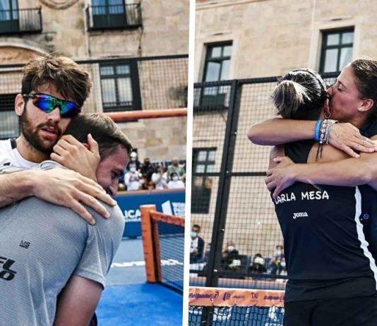 Villalba/Mesa y Garrido/Capra ganan el Ibereólica Lerma Challenger