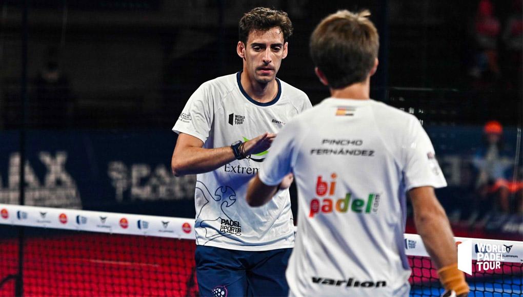 Caen Maxi Sánchez y Lucho Capra en los dieciseisavos del Barcelona Master