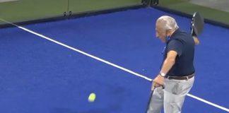 ¡Cuando la edad no importa para practicar el deporte que te apasiona! Gonzalo Cunqueiro, un apasionado al pádel con 92 años