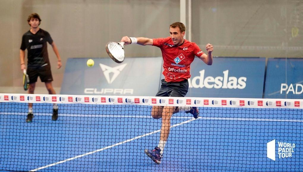 Cepero - Méndez y Ruiz - Alonso, las victorias más destacadas de los dieciseisavos del Lugo Open