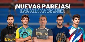 El Estrella Damm Barcelona Master trae nuevas parejas en el circuito masculino