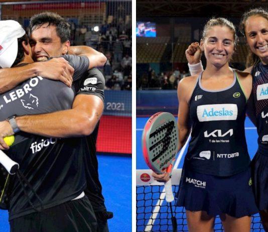 Galán - Lebrón y Triay - Salazar vencen en las finales del Lugo Open 2021
