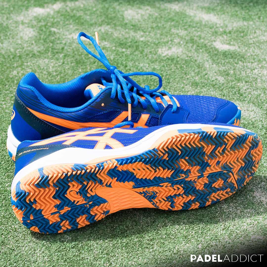 Las Gel Padel Exclusive 6 son unas zapatillas orientadas para ese jugador ocasional