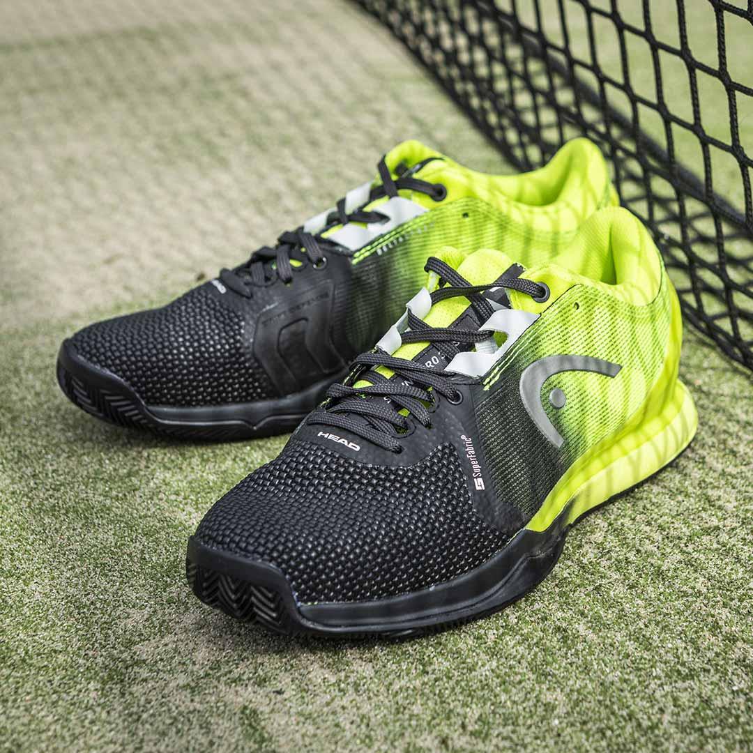 Las nuevas zapatillas de HEAD son ligeras, flexibles y cómodas, con una marcada resistencia en el upper, y son ideales para aquellos jugadores que quieren ser más rápidos en la pista.