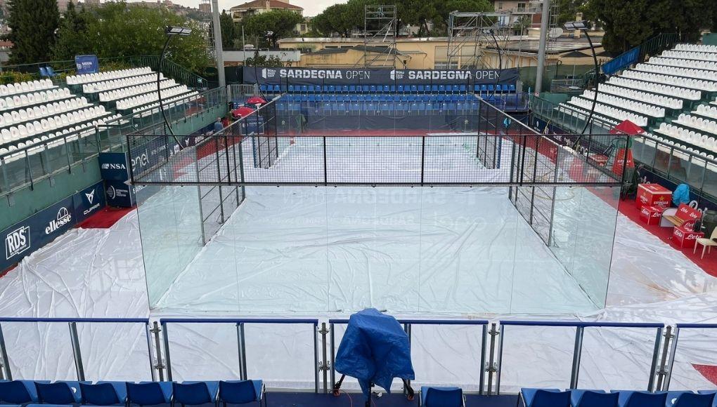 La jornada de cuartos del Sardegna Open se aplaza a este sábado por la mañana