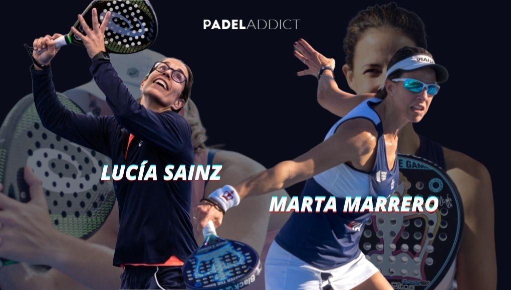 Marta Marrero y Lucía Sainz, dos ex-numero 1 para aspirar a lo más alto