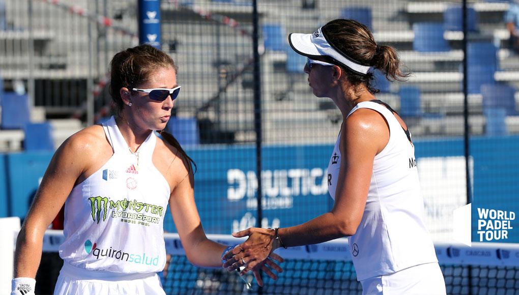 Marta Marrero y Marta Ortega eliminan a las número 1 en los cuartos del Cascais Padel Master