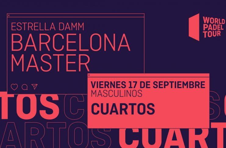 Streaming del Estrella Damm Barcelona Master: ¡Sigue ya los cuartos!