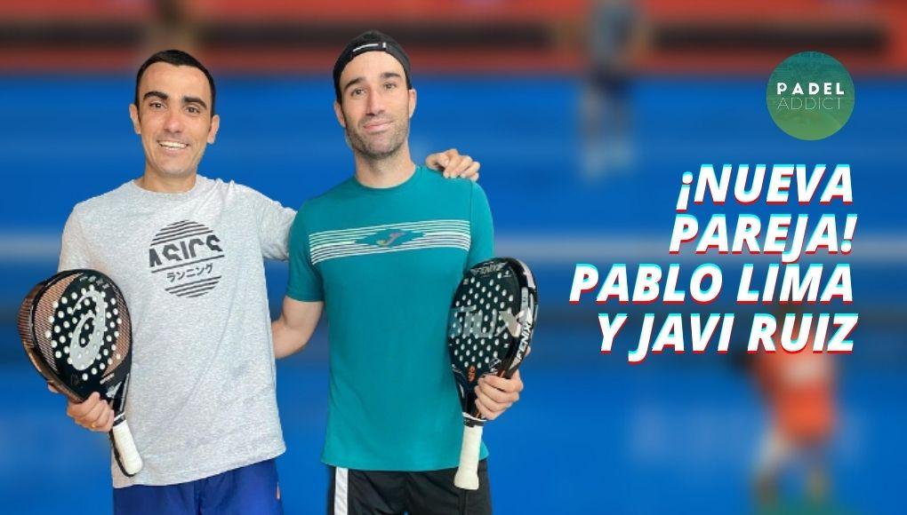Pablo Lima y Javi Ruiz, una de las nuevas parejas que debutarán en el Menorca Open