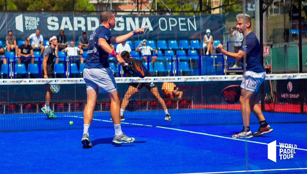 Paquito y Di Nenno eliminan a Lebrón y Galán en los cuartos del Sardegna Open