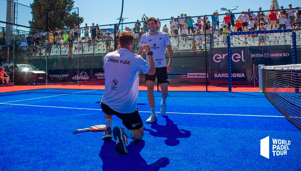 Paquito y Di Nenno se enfrentarán a Stupa y Ruiz en la final del Sardegna Open