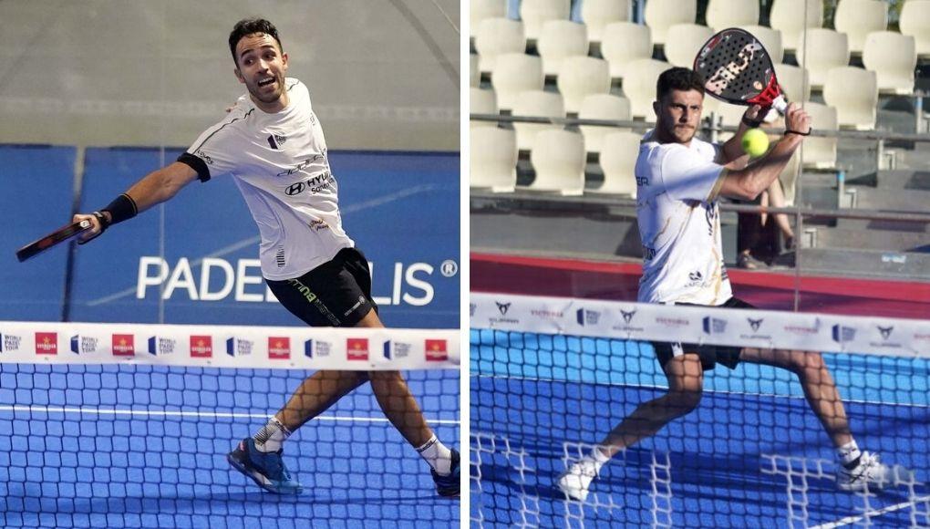 Sergio Alba y Miguel Semmler, otra de las nuevas parejas que debutarán en el Menorca Open