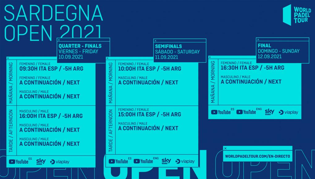 Streaming del Sardegna Open 2021