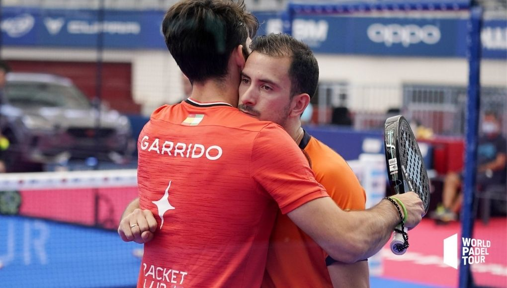 Javi Garrido y Juan Belluati se despiden como pareja