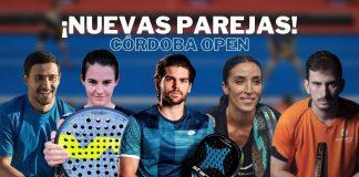 El Córdoba Open también traerá el estreno de nuevas parejas